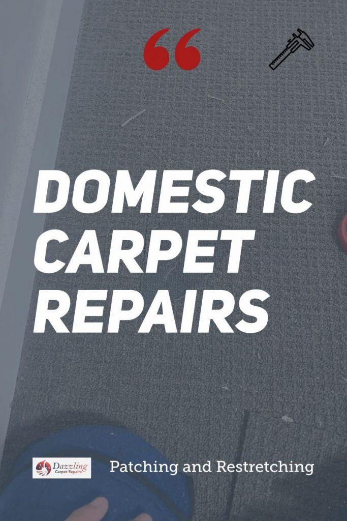 Local domestic carpet repair services