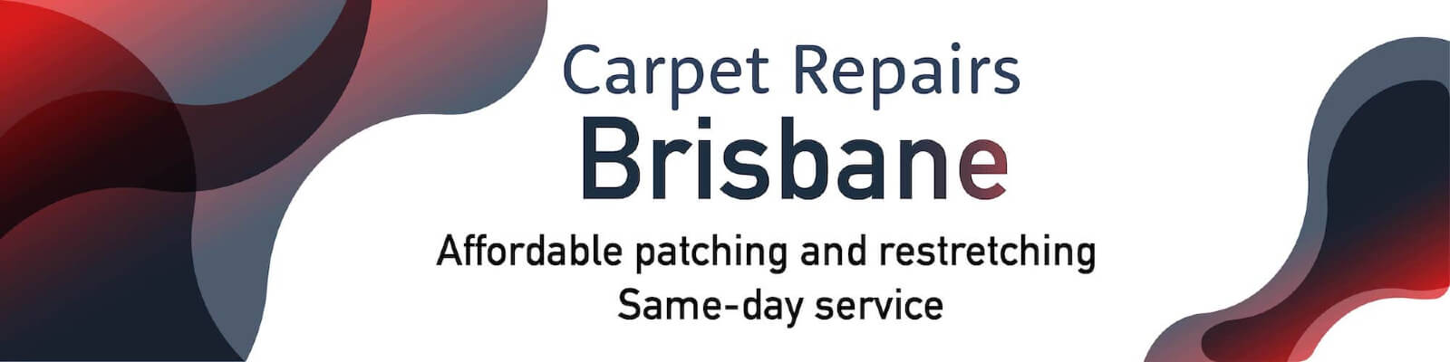 Dazzling Carpet Repairs Brisbane Banner